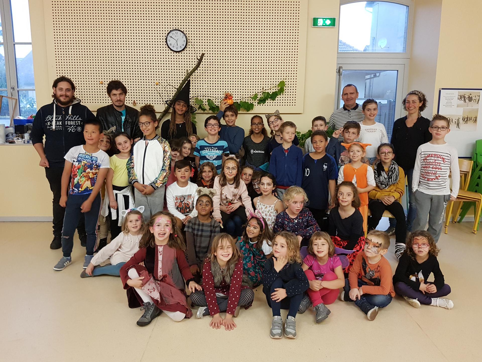 Groupe des primaires (2)