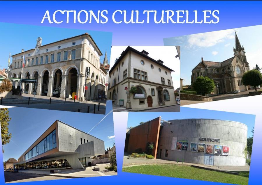 Actions culturelles 1