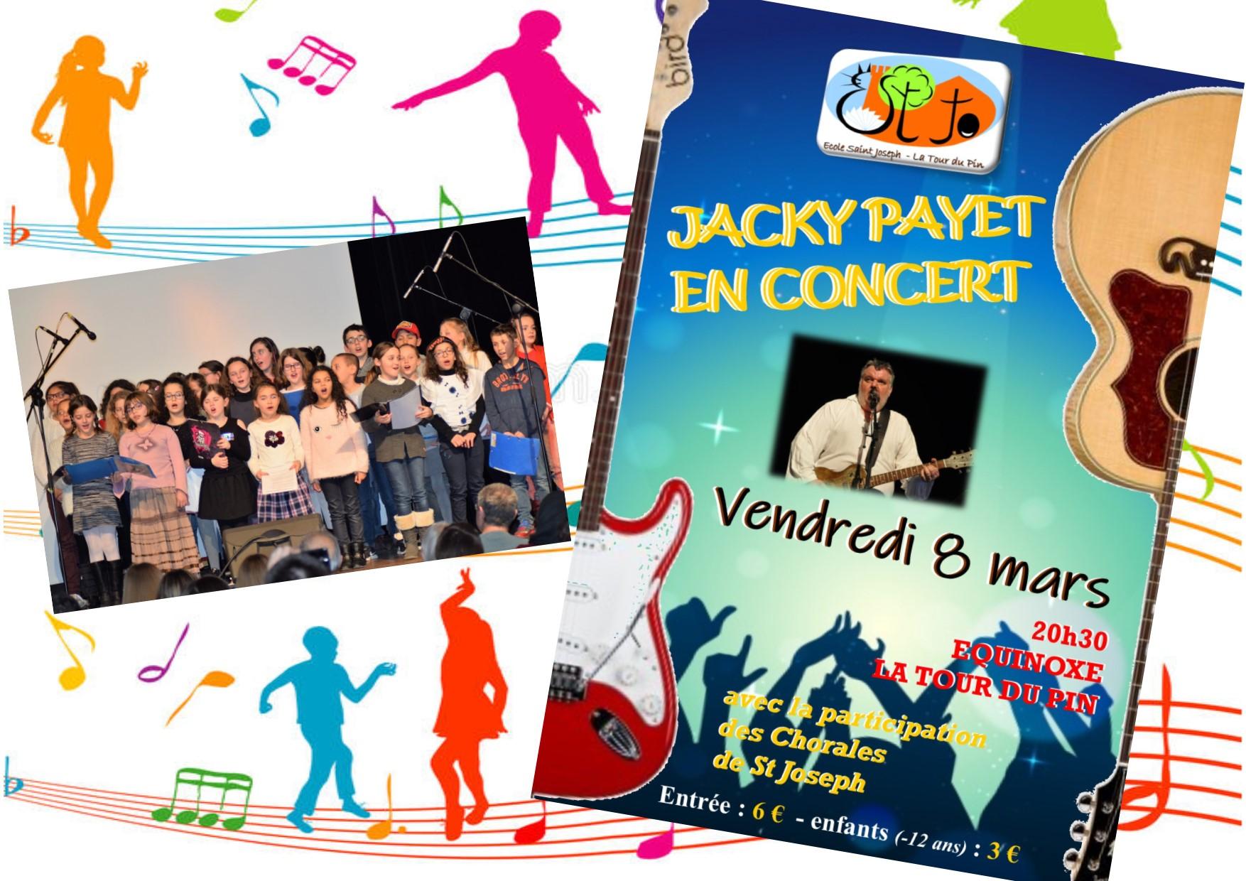 Affiche soiree concert