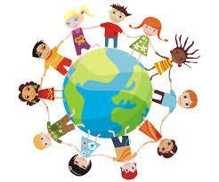 Enfants ronde monde