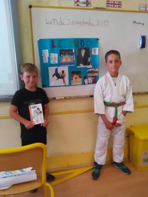 exposé sur le Judo