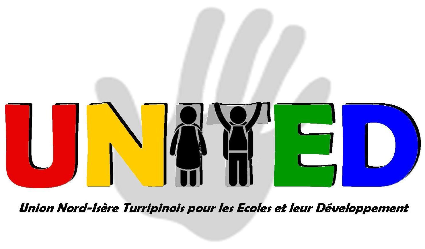 Logo united avec main