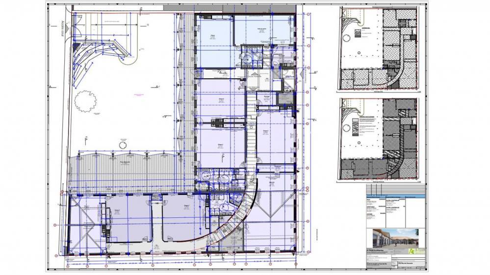 Plan rdc poour site