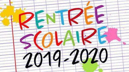 Rentree 2019 2020