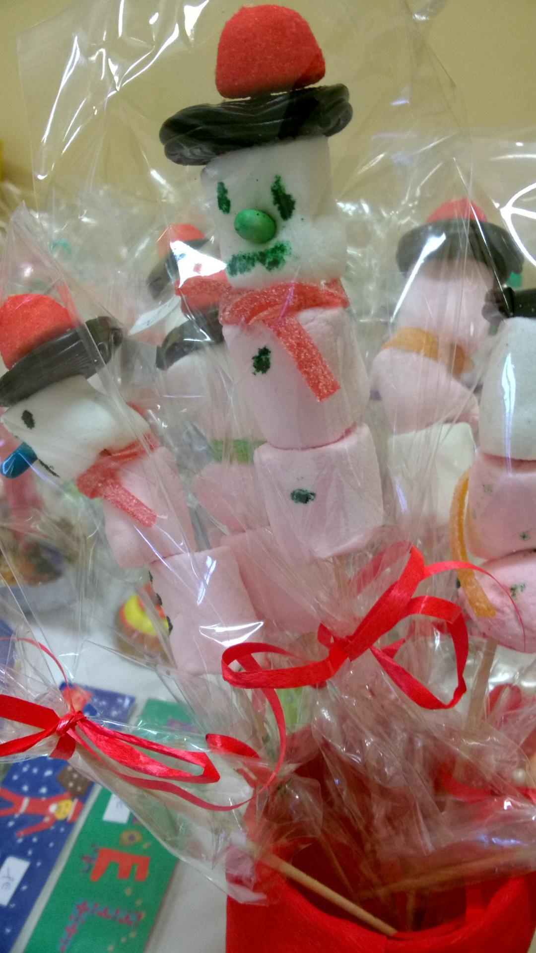 Brochettes de bonbons des PS MS G